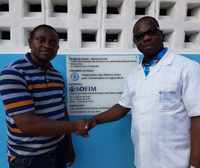 Providing sustainable medical waste disposal in the Ivory Coast